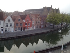 Bruges houses