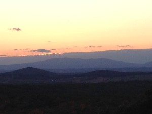 View from High Laurel Inn, photo by CGIOS